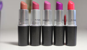 MAC lipsticks contact
